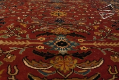 Sarouk Design Rug Runner